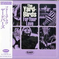 YARDBIRDS-FOR YOUR LOVE-JAPAN MINI LP CD BONUS TRACK C94
