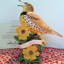 Lenox Western Meadowlark Bird Limited Edition NEW IN BOX