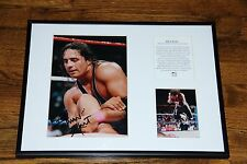Bret Hart Rare Official 79/250 wwf wwe wrestling autographed signed photo