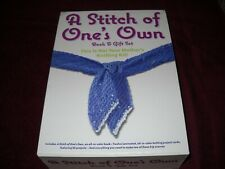 A Stitch Of One's Own Book & Gift Set Knitting Kit Brand new