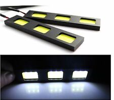 2Pcs 3 LED 6W  best COB Daytime Running Light DRL Car LED Fog Driving Lamp White