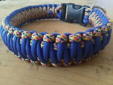 Handmade dog collar - Strong Paracord collar - medium 16inch/42cm
