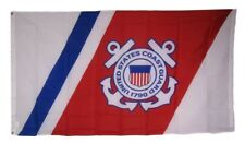 3x5 Uscg United States Coast Guard Anchors Crest Emblem Seal 1790 Flag 3'x5'
