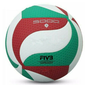 PU Leather Size5 Volleyball 5000 Soft Touch Training Sports In/Outdoor Game Ball