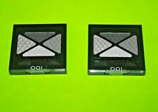 (2) RIMMEL LONDON *SEALED* Glam Eyes Eyeshadow *001 SMOKEY NOIR*