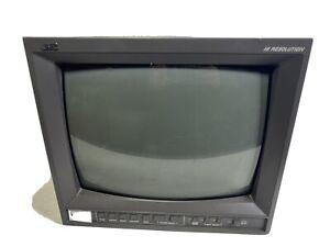JVC TM-H140PN Hi-Resolution 14 inch Colour Monitor - Gaming / Broadcast