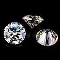 I-J Color  VS  3.0mm 0.1CT  Round Brilliant Cut Moissanite Stone