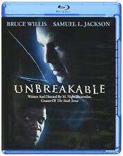 Unbreakable Blu-Ray Disc Bruce Willis,Samual L. Jackson