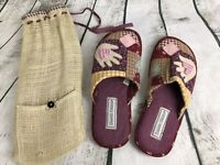Daniel Green House Shoe Slipper Patchwork Quilted Size 5.5 - 6.5 Petite NWOT