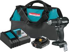 "Makita XFD11R1B 18V LXT® Sub‑Compact Brushless Cordless 1/2"" Driver‑Drill Kit"