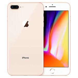 "Original Apple iPhone 8 Plus 5.5"" 64GB SmartPhone Sbloccato Di Fabbrica Oro"