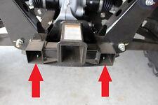 Honda Pioneer Side by Side Rear Frame Plugs Caps - Fits 700-4 & 700-2