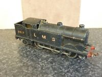 HORNBY DUBLO 0-6-2 EDL7 BLACK LMS LOCO No.6917 1948-9 TESTED WORKING OK
