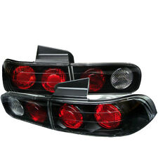 Acura 94-01 Integra 4dr Sedan Euro Style Black Rear Tail Lights Brake Lamp