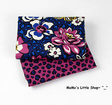 Beautiful Vera Bradley Fabric (African Violet) —— 2 Matching Fat Quarters