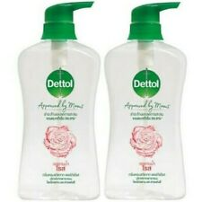 DHL 2 x 500 ml Dettol Shower Gel Rose Body Wash PH Balance Bath Health Bathing