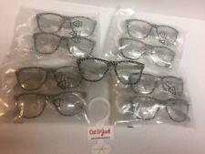 Cat & Jack Girls Accessories Fashion Eyeglasses, Leopard Print Lot 9 Pairs New