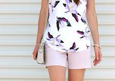 Banana Republic lilac shorts 0