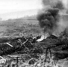 German Stormtroopers France Flamethrowers World War 1 4x4 Inch Reprint Photo R