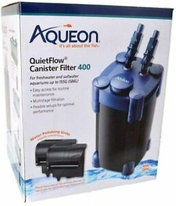 Aqueon QuietFlow Canister Filter 100-150 Gallons