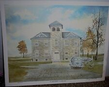 "St Johns School, Auglaize County Ohio, by Marge Brandt, LE, 9 1/2"" x 12 1/2"""