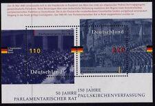 Germany 1998 Parliamentary Anniversaries mini sheet SG MS2849 MNH