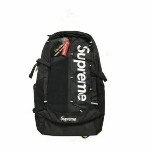 Supreme 17ss Backpack Waterproof Box Logo Mountaineering Bags Travel NEW