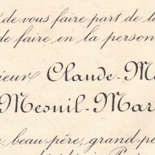 Claude Marie Jules Du Mesnil-Marigny Martainville Ussy 1885