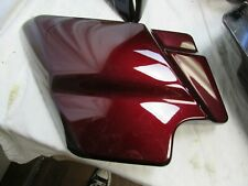 2009-2020 Harley Touring Left Side Cover in Red GC 66250-09