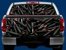 AMMO- Tailgate OR Window Truck Tailgate Wrap Vinyl Graphic Decal Wrap