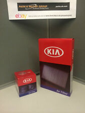 GENUINE SERVICE KIT: OIL FILTER, AIR FILTER KIA PICANTO 1.0