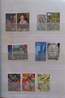 Grande-Bretagne, Royaume-Uni, collection de timbres dans un carnet