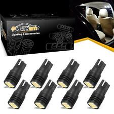 8x Canbus Error Free Interior LED Light Bulbs T10 W5W White Dome Map LED Bulbs