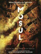 MOSUL feature documentary BluRay (2019) AUTOGRAPHED edition: All Regions, NTSC