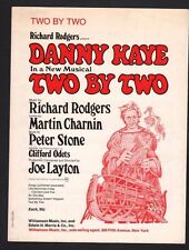 Two by Two 1970 Danny Kaye in Two By Two Sheet Music