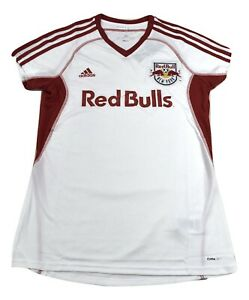 adidas MLS Womens New York Red Bulls Clima-Cool Soccer Jersey NWT S, M, L, XL