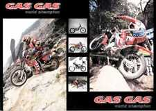 multi page Genuine new original old stock GasGas trials multi page brochure
