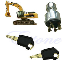 1PC Newest Style Equipment Ignition Key CAT 5P8500 New