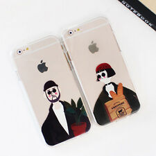 Mister & Girl Jelly Case iPhone 7 Case iPhone 7 Plus Case 5 types Case Korea