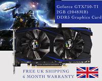 GeForce GTX 750 Ti 2GB (2048MB) DDR5 Graphics Card - BRAND NEW - Mining, Bitcoin