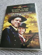 Vierzig Wagen westwärts - Burt Lancaster - Western DVD - wie neu