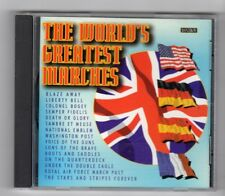 (HZ105) The World's Greatest Marches, 20 tracks various bands - 2000 CD