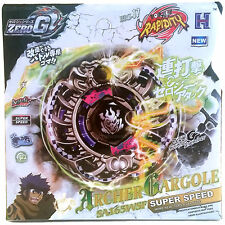 Archer Gargoyle Gargole Zero-G Shogun Steel Beyblade STARTER SET w/ Launcher NIP
