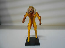 MCF #081 DIENTES DE SABLE SABRETOOTH 12H MARVEL COMICS EAGLEMOSS BLISTER NO CAJA