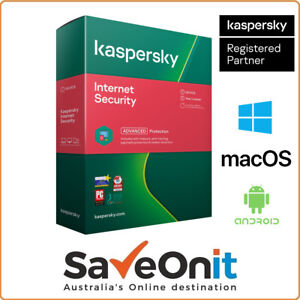 Kaspersky Internet Security 2020 1 PC 1 Year Windows Android iOS Email license