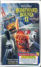 HOMEWARD BOUND II - Lost in San Francisco (Sealed VHS, 1996)