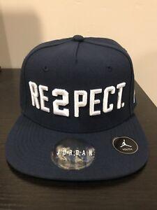 NWT Nike Jordan Derek Jeter Re2pect Snapback Navy Blue Hat Cap YOUTH SIZE RARE