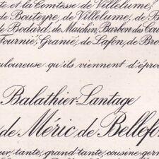 Marie Félicie De Balathier-Lantage Victor De Méric De Bellefon Montauban 1911