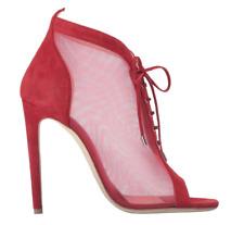 Chloe Gosselin Lobelia Womens Suede Red Carpet Heel Bootie Sz 39.5 EUR 7487