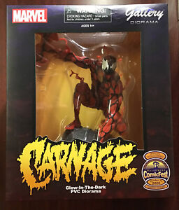 Marvel Gallery GITD Carnage Statue Diamond Select Halloween ComicFest LE 3000